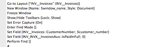 FileMaker Script Snip After Revisions